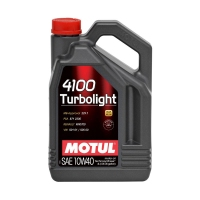 Моторное масло MOTUL 4100 Turbolight 10W40, 4л